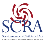 Servicemembers Civil Relief Act Centralized Verification Service
